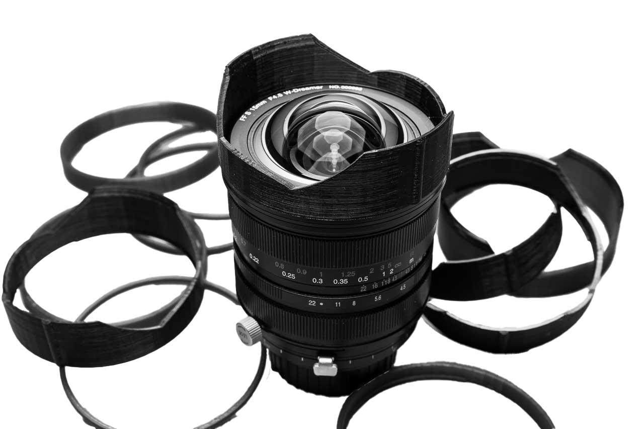 Lens Hood Laowa 15mm f/4.5 Zero-D Shift